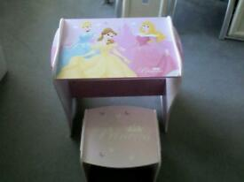 Child table and stool