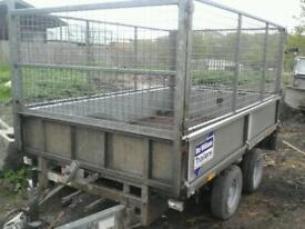 Ifor williams trailer 8x5 with mesh sides no vat