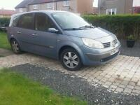 2004 Renault Grand Scenic 2.0 16v Dynamique, Mot till July