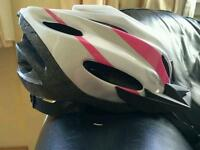 New female bike helmet