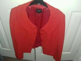HOBBY LADY VEST STUNNING RED 12 USED