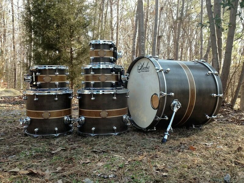 Anchor Custom Drums Frigate Series Maple/Poplar 6pc Shell Kit, NICE!