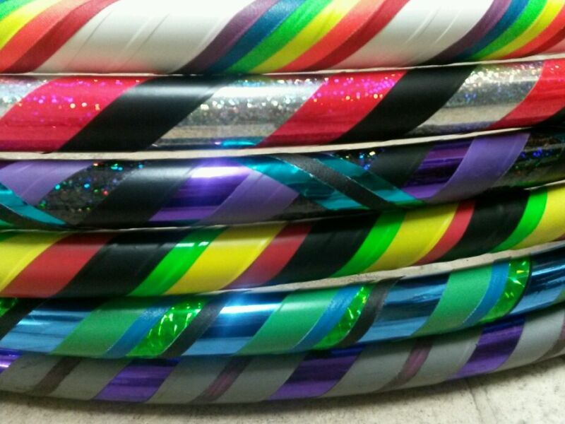 custom dance - exercise hula hoop (you pick any size/weight/colors)