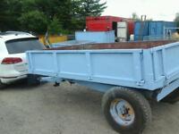 Weeks farm tipping trailer 10x6 no vat