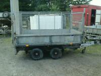 Ifor williams dropside trailer with mesh sides 8x5 no vat