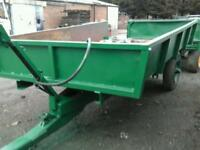 Farm tipping trailer 9x6 no vat