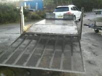 Indespens car tranporter trailer 14x6.6 no vat