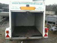 Indespenson tow van box trailer 6x4x4 no vat