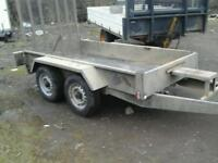 Indespenson plant trailer with ball hitch 8x4 no vat