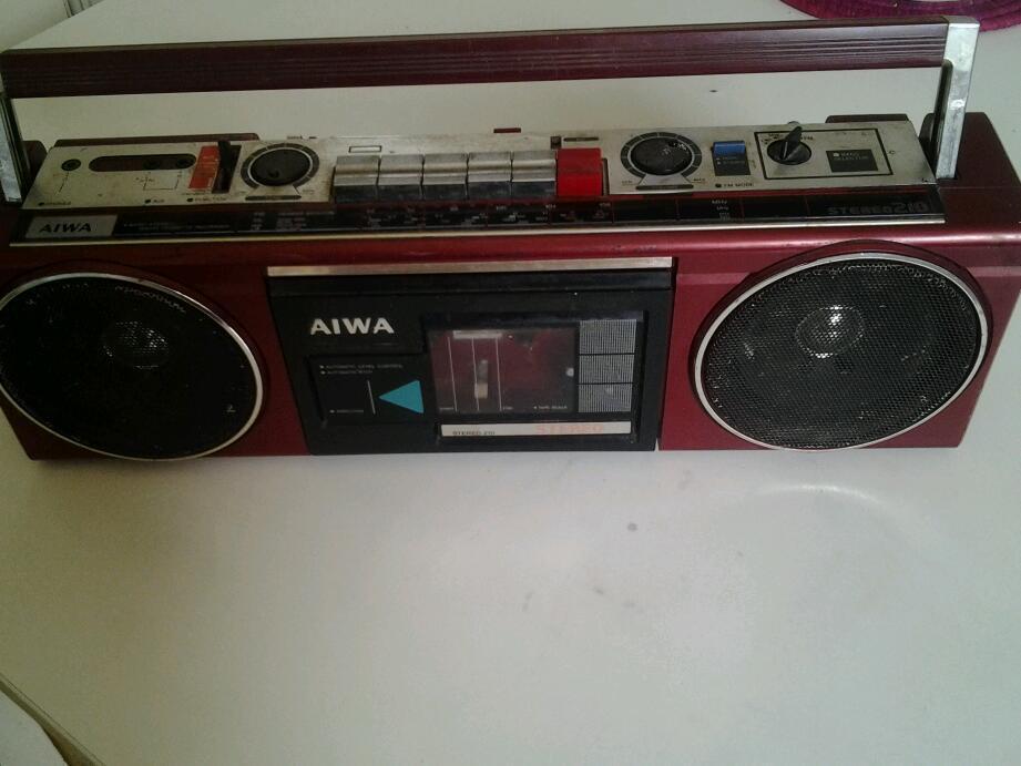 Aiwa Srereo 210 Radio cassette