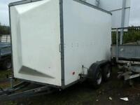 Richerson rice box van trailer 10x5.6x6.6 no vat