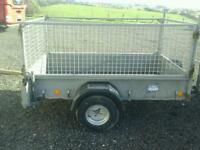 Ifor williams trailer with messh sides p 6 e no vat