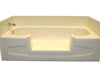 Walk-In Bath Tub Shower Easy Step-Through Insert DIY Conversion Senior Safety