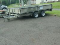 Ifor williams dropside trailer 12x6.6 no vat