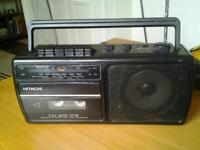 Hitachi Radio Cassette TRK-60
