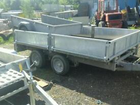 Ifor williams dropside trailer 10x5.6 no vat