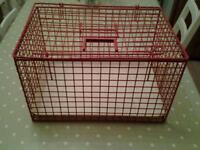 Cat rabbit small pet basket