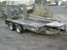 Ifor williams plant trailer 10x6 no vat