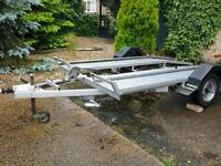 BEAVER TAIL BRAKED TRAILER/TRANSPORTER