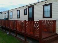 3 BEDROOM CARAVAN TO LET INGOLDMELLS SKEGNESS