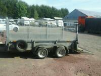 Ifor williams plant trailer 10x5.6 no vat