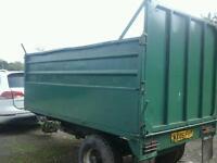 Fraser farm tipping trailer 10x6 no vat