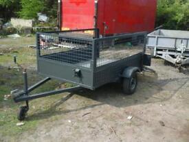 Indespenson quad trailer 8x4 no vat