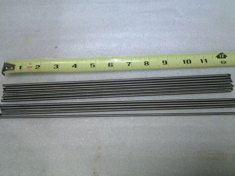 "Lot of 10 pieces Grade 5 Titanium Round Rod 3/32"" diameter x 12"" long 6al4v"