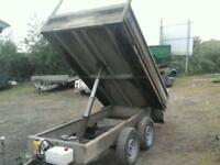 Lynton electric tipping trailer 8x 5 no vat ( like ifor williams)