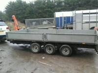 Ifor williams trailers selection no vat