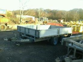 Ifor williams dropside trailer 10x6 no vat