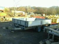 Ifor williams dropside trailer 10x6 no vat