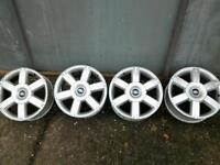 "Ford Focus set of 4 16"" 5 stud alloy wheels"