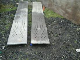 Ifor williams galvanised trailer ramps 8 ft no vat