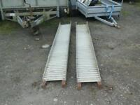 Alloy trailer ramps 9 ft no vat