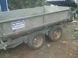 Ifor williams dropside electric tipping trailer 8x5 no vat