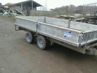 Ifor wiliams dropside trailer 12x6.6 no vat