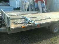 Ifor williams trailer 16x6.6 with ramps no vat