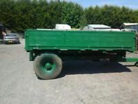 Farm tipping trailer 10x6 no vat