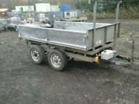 Ifor wiliams electric tipping trailer 8x5 no vat