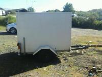 Indespenson box van trailer 6x4x4 no vat