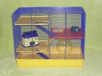 Large hamster cage.