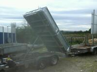 Ifor williams electric tipping trailer 10x5.6 no vat