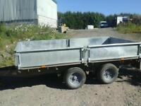 Ifor williams dropsife trailer 10x5.6 no vat