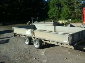 Ifor williams dropside trailer 14 x6.6 no vat