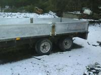 Ifor williams dropside trailer 10x5.6 no vat