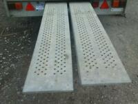 Ifor williams trailer ramps 6 ft no vat