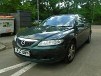 2002 Mazda6 1.8 petrol, Starts & Drives, NO MOT Spares/Repair.