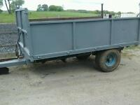Weakeley farm tipping trailer 12x6 no vat can deliver