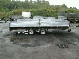 Ifor williams dropside trailer 14x6.6 no vat
